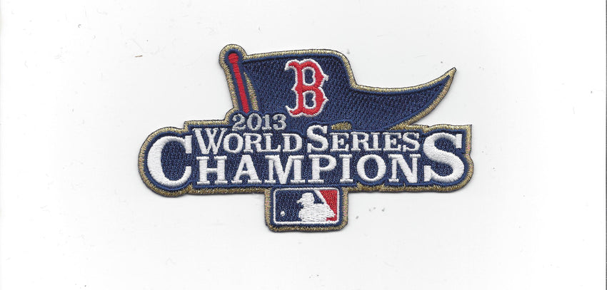 Boston Red Sox 2013 World Series Championship (Ring Ceremony) Patch