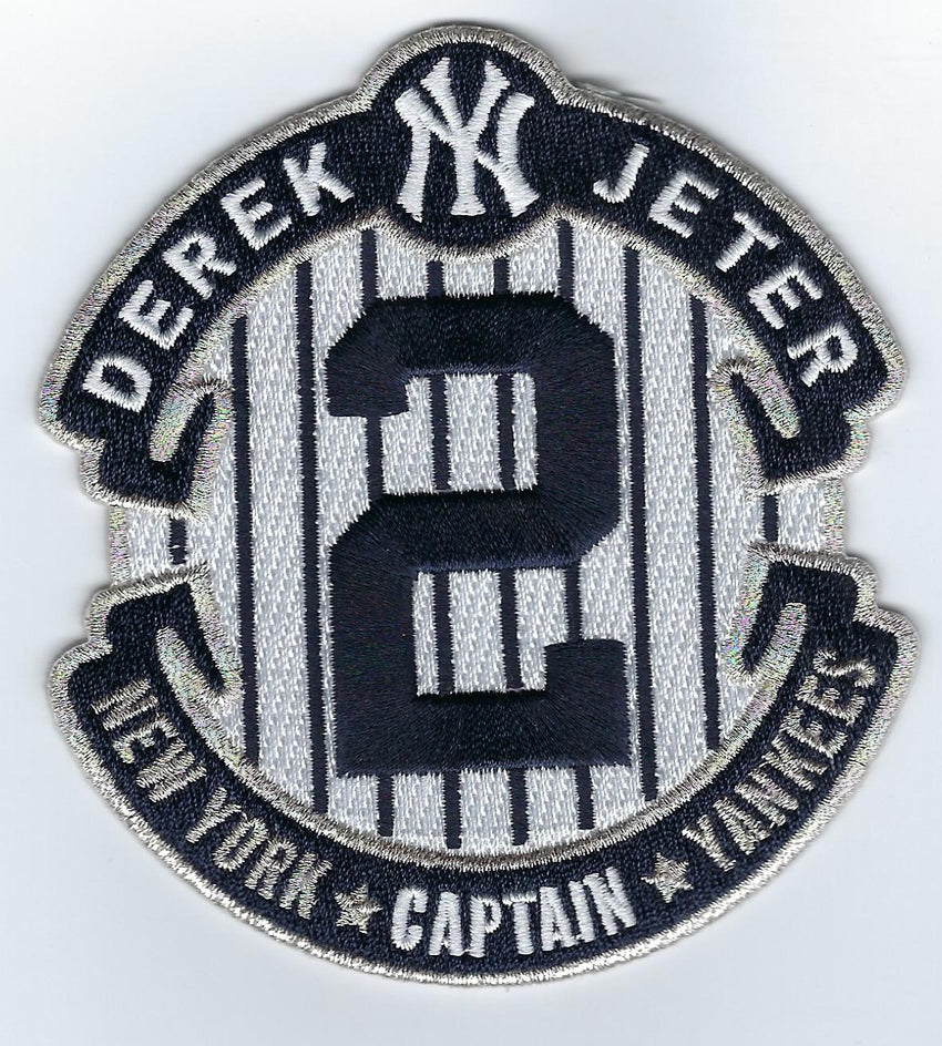 Derek Jeter The Captain Patch / Final Season