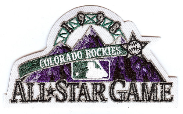 1998 Major League Baseball All Star Game Patch (Colorado)
