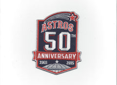 Houston Astros 50th Anniversary Patch (1965-2015)