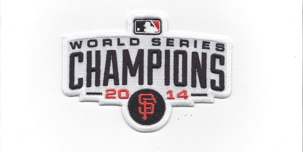San Francisco Giants 2014 World Series Champions Patch