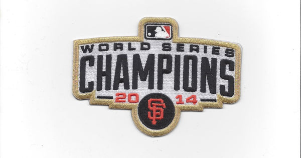 San Francisco Giants 2014 World Series Champions Patch (Gold)