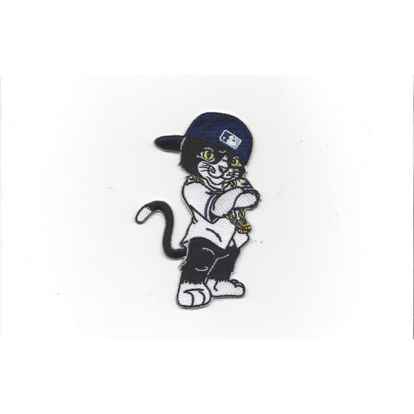 Tampa Bay Rays DJ Kitty Mascot Patch