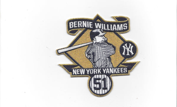 Bernie Williams Retirement Patch