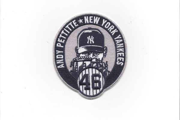 "Andy Pettitte Number ""46"" Retirement Patch"