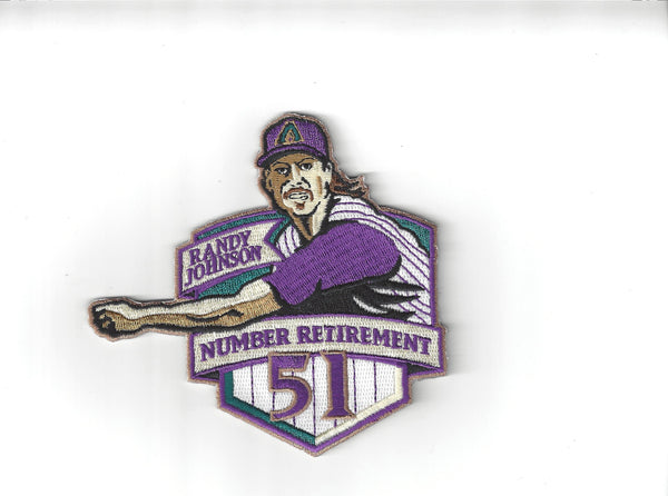 "Randy Johnson Number ""51"" Retirement Patch"