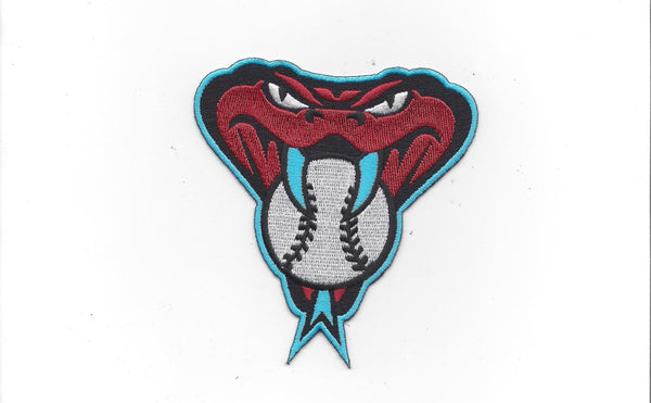 Arizona Diamondbacks Snake Head (Turquoise) Patch