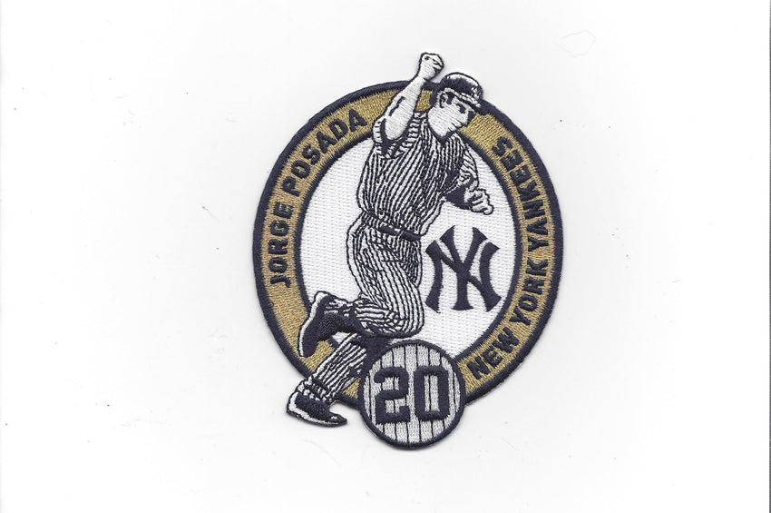 "Jorge Posada Number ""20"" Retirement Patch"