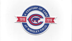 A Century of Cubs at Wrigley Field 1916-2016 Patch