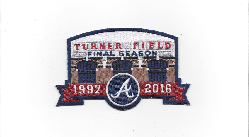 Atlanta Braves Turner Field Final Season 1997-2016 Patch