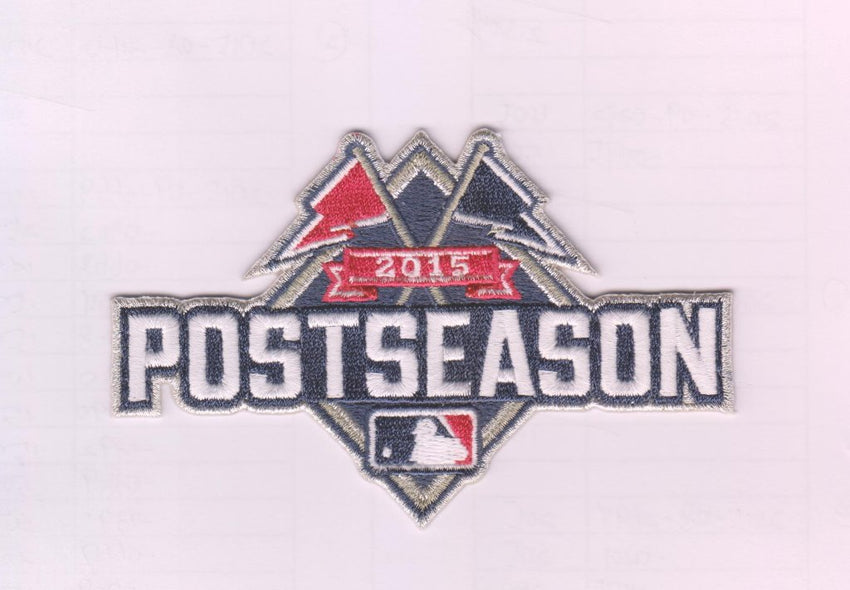 2015 Postseason Patch