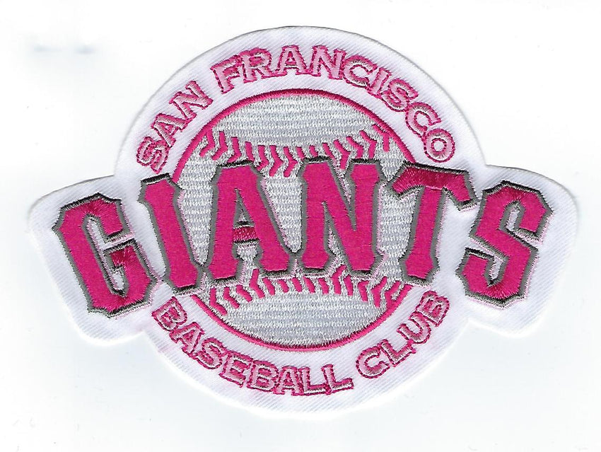San Francisco Giants Mother's Day Patch