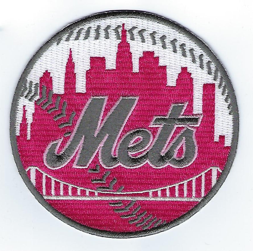 New York Mets Mother's Day Patch