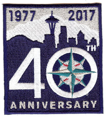 Seattle Mariners 40th Anniversary Patch