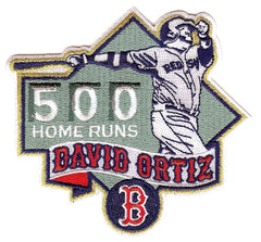 David Ortiz 500 Home Runs Patch