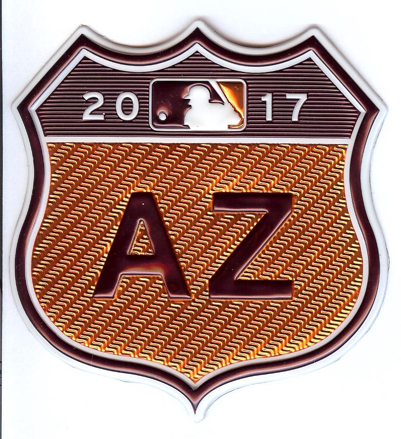 2017 Cactus League Spring Training EmbossTech Patch