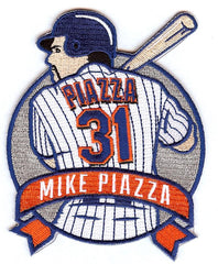 Mike Piazza Retirement Patch