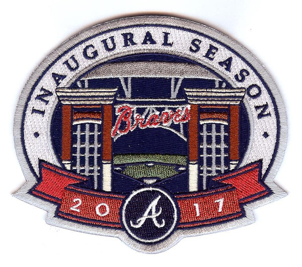 Atlanta Braves Inaugural Season 2017 Patch