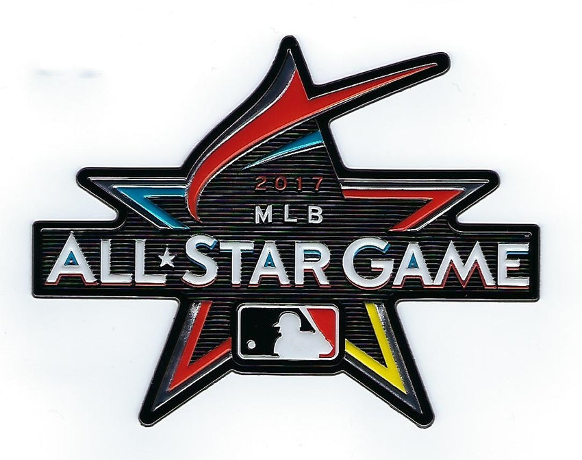 2017 On-Field Major League Baseball  All Star Game EmbossTech Patch (Miami)
