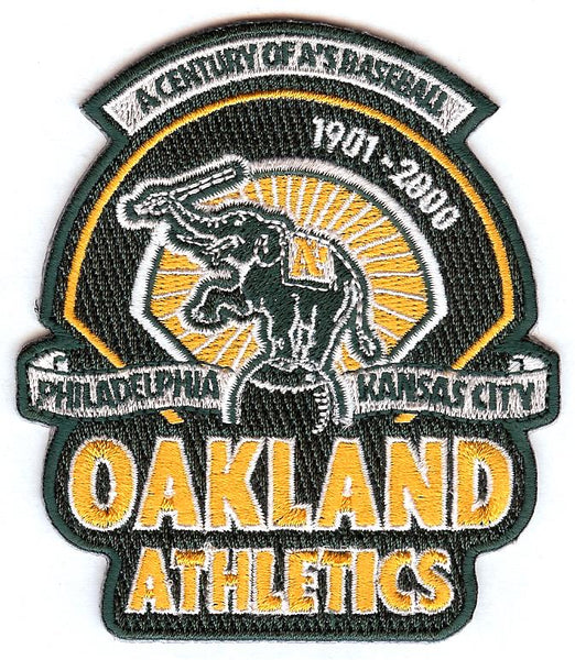"Oakland Athletics ""A Century of A's Baseball"" Patch"