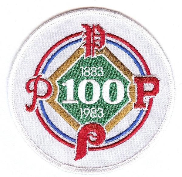 Philadelphia Phillies 100th Anniversary Patch