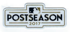 2017 Major League Baseball Postseason EmbossTech Patch