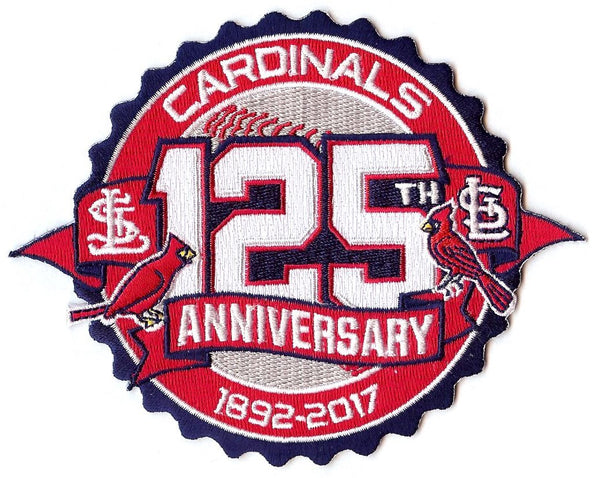 St. Louis Cardinals 125th Anniversary Patch