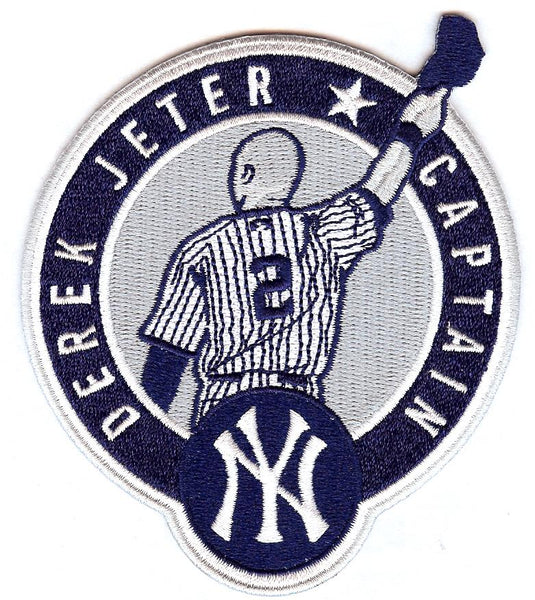 Derek Jeter Captain Patch