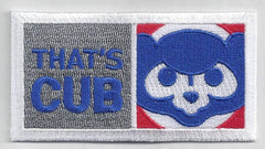 "Chicago Cubs ""That's Cub"" FanPatch"