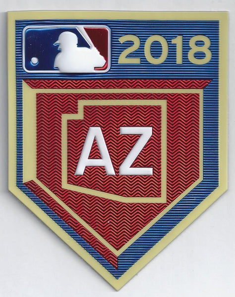 2018 Cactus League Spring Training EmbossTech Patch