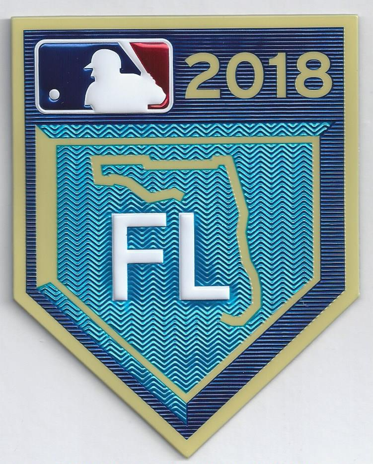 2018 Grapefruit League Spring Training EmbossTech Patch