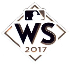 2017 Major League Baseball World Series EmbossTech Patch