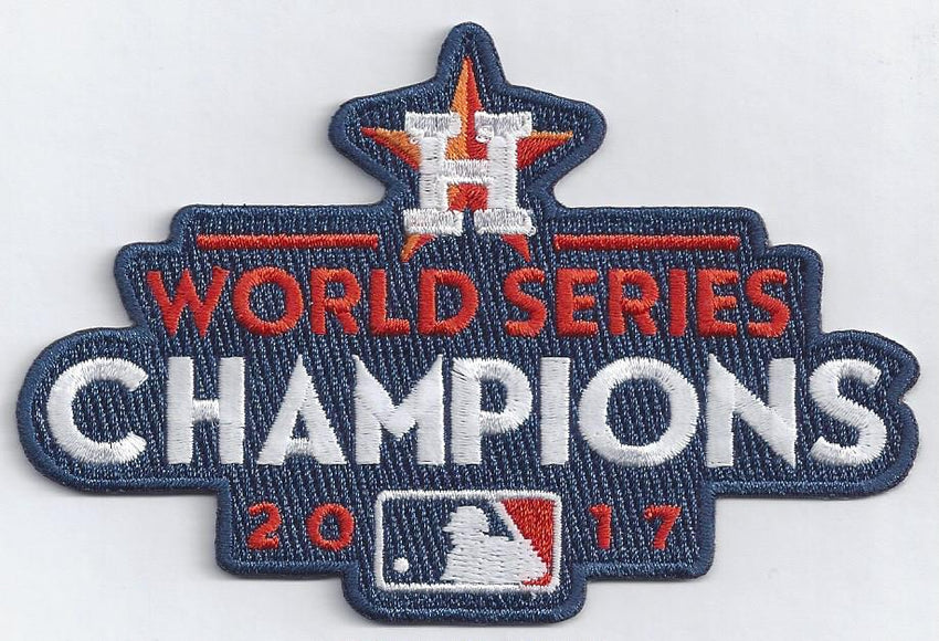 Houston Astros 2017 World Series Champions Patch