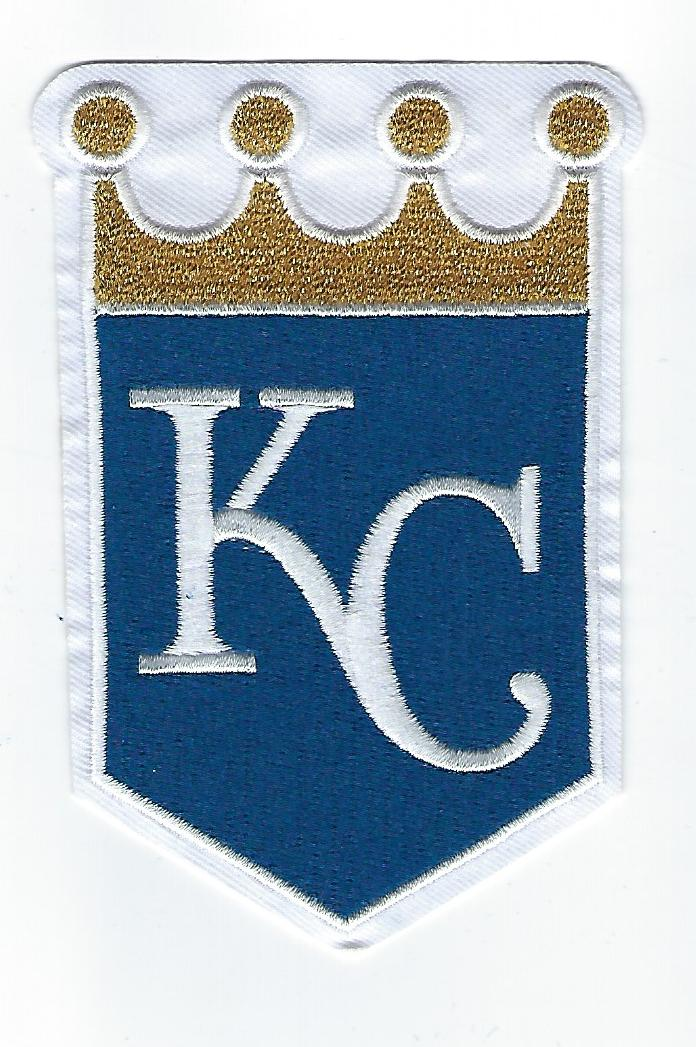 Kansas City Royals Primary Logo / Sleeve Patch