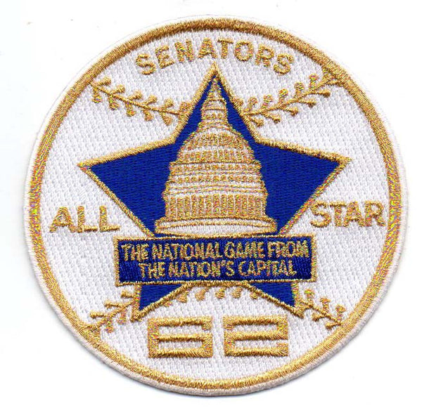 1962 All Star Game Patch (Washington Nationals)