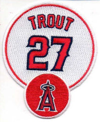 "Mike Trout ""27"" FanPatch"