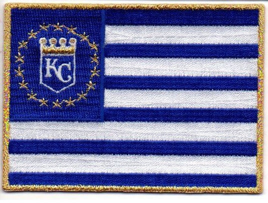 "Kansas City Royals ""Flag"" FanPatch"