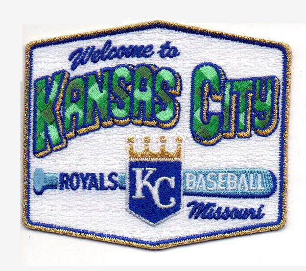 "Kansas City Royals ""Welcome to KC"" FanPatch"
