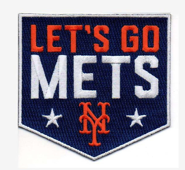 "New York Mets ""Let's Go Mets"" FanPatch"