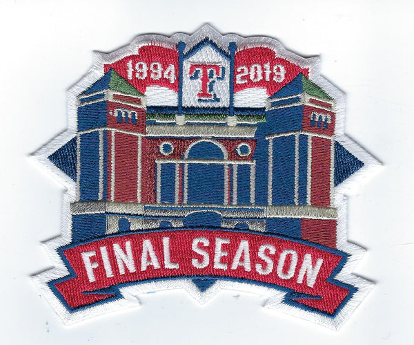 Texas Rangers Final Season 2019 Patch