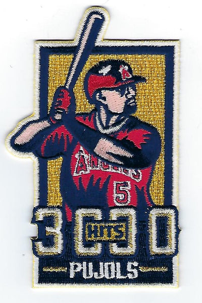 Albert Pujols 3000 Hits FanPatch