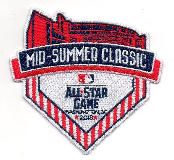 "2018 All Star Game ""Mid-Summer Classic"" FanPatch (Washington Nationals)"