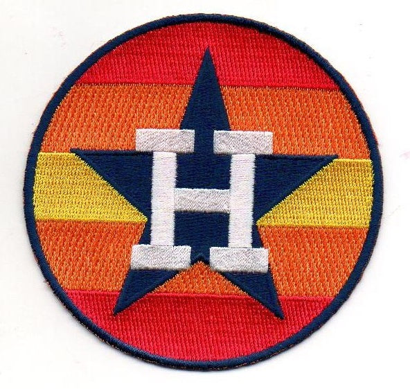 Houston Astros Retro-Rainbow FanPatch