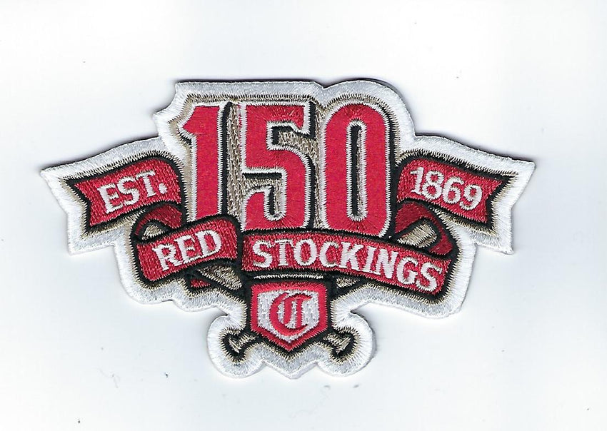Cincinnati Reds 150th Anniversary Patch (Road)