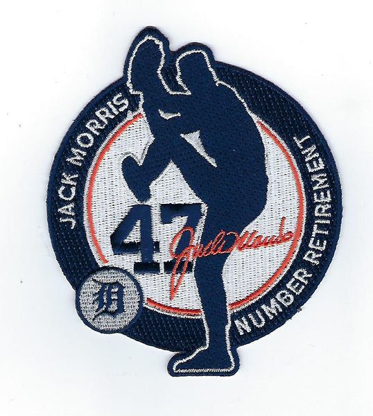 Jack Morris Number 47 Retirement FanPatch