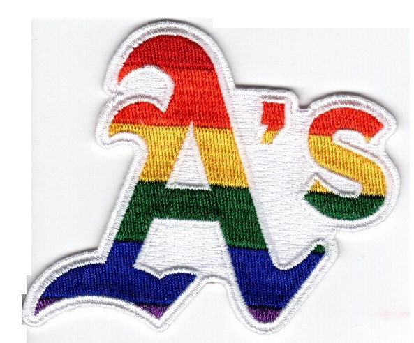 Oakland Athletics Pride FanPatch