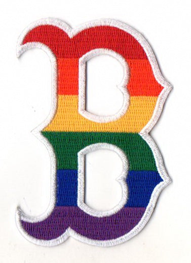 Boston Red Sox Pride FanPatch