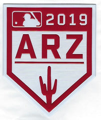 2019 Cactus League Spring Training EmbossTech Patch