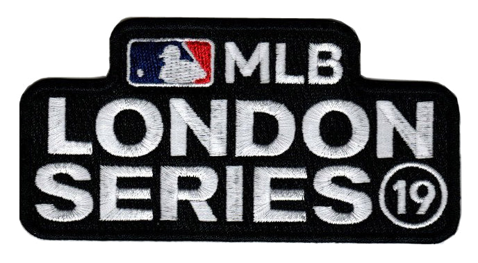 2019 MLB London Series Patch