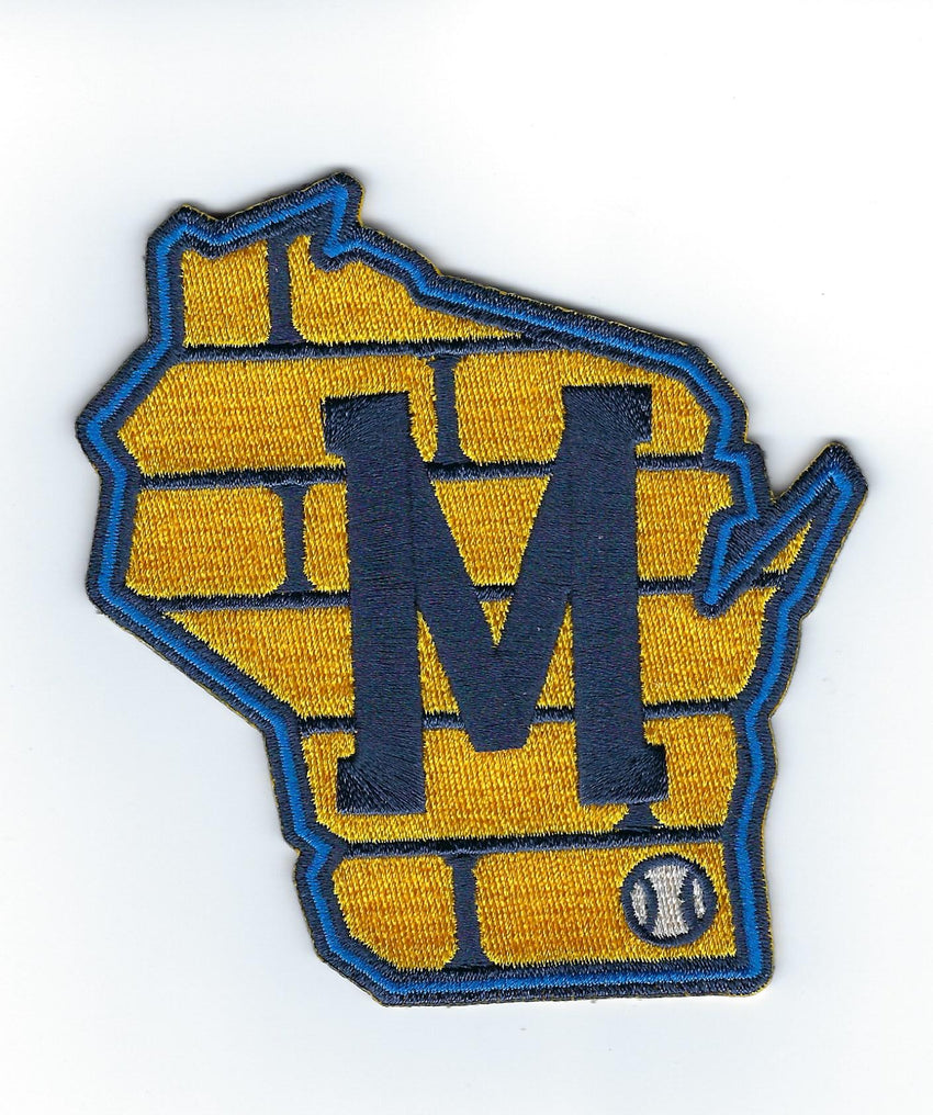 Milwaukee Brewers Road Sleeve Patch